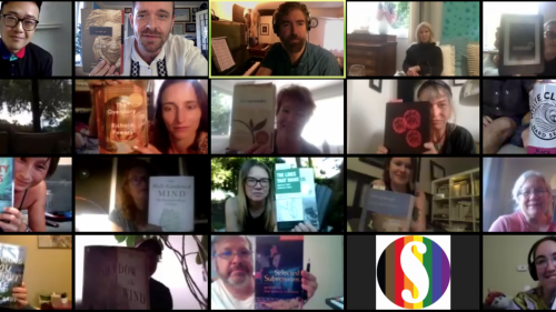 Silent Reading Party with Christopher Frizzelle and Paul Matthew Moore